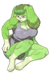 Sour Green Machine by goomzz