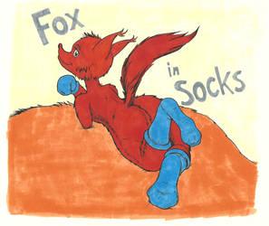 Fox In Socks by goomzz