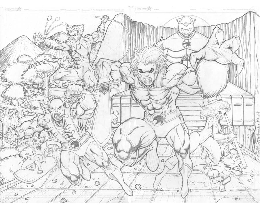 Enchanting Thunder Cats Coloring Book Pages Photo - Examples ...