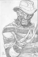 Freddy Kreuger by c-crain