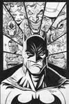 The Bat-Man inks