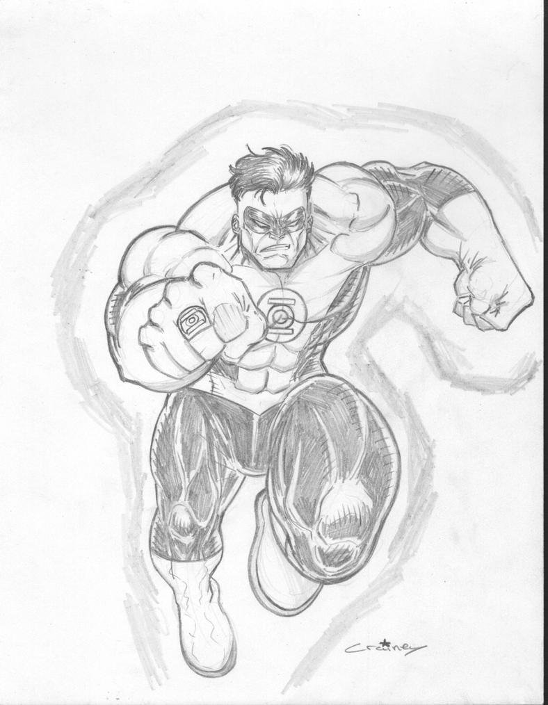 Green Lantern Hulk by c-crain