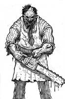 LeatherFace by c-crain