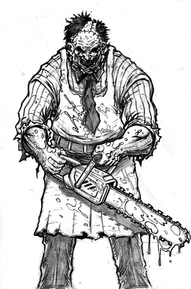 LeatherFace by c-crain on DeviantArt