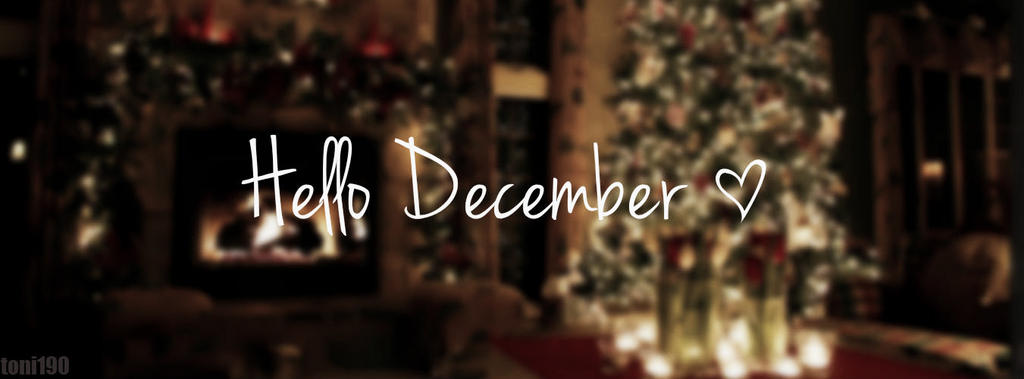 Hello December Cover Fb By Toni190 On Deviantart