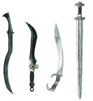 some magic or legendary swords by Kluwe