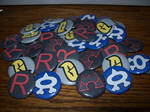 Pokemon Pins - Team Logos
