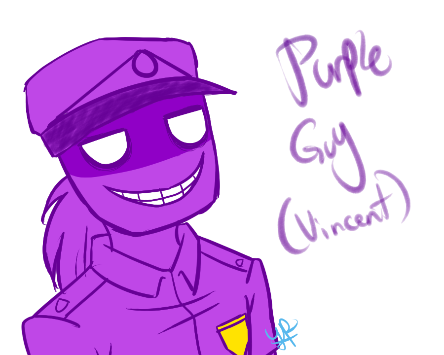 FNaF: Purple Guy By YanderePrime On DeviantArt