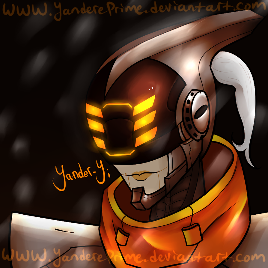 League of Legends: Yander-Yi by YanderePrime