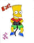 Bart Simpson by MCS1992
