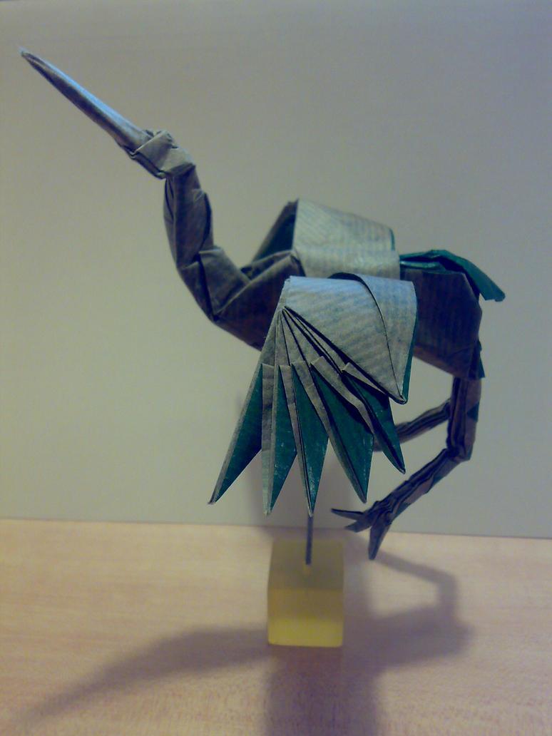 Dancing Crane by MCS1992