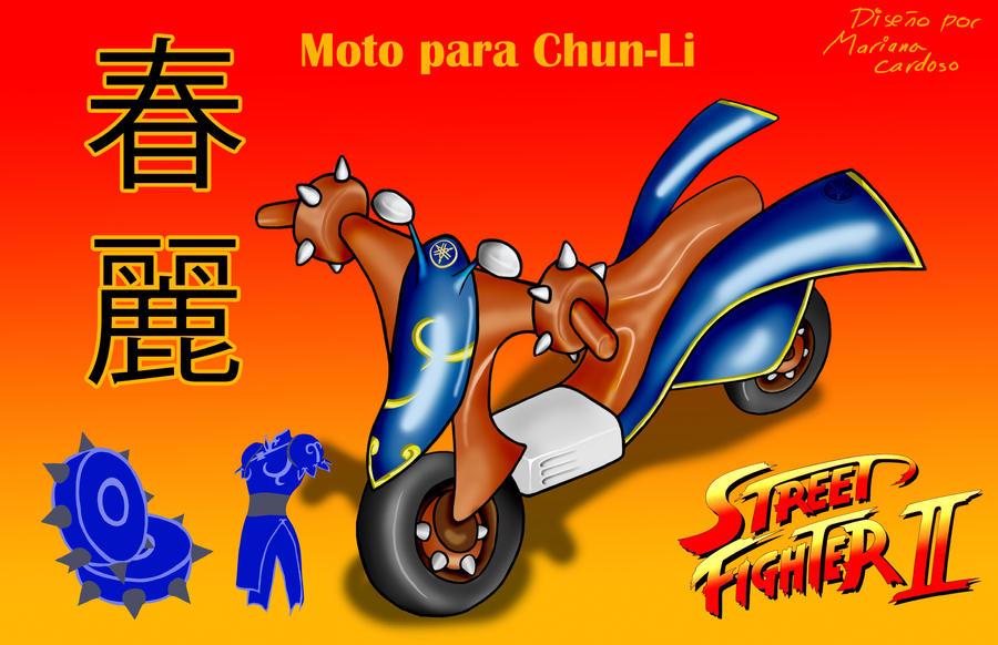 Moto para ChunLi by MCS1992