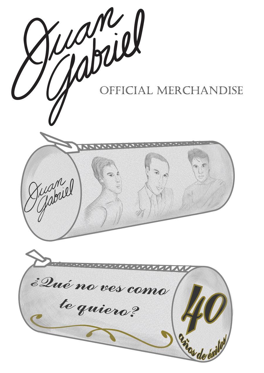 Estuche Cosmetiquera para Juan Gabriel by MCS1992