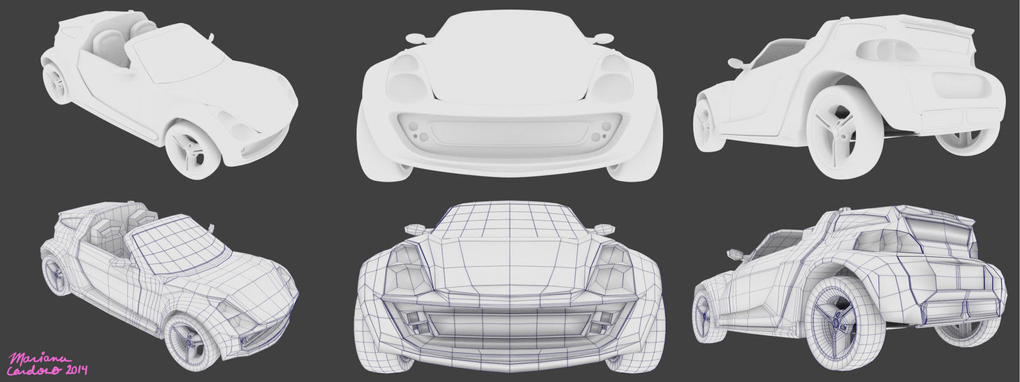 Smart Roadster by MCS1992