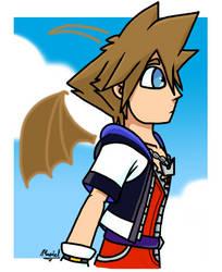 Random Sora Drawing by TheNerdyKairi