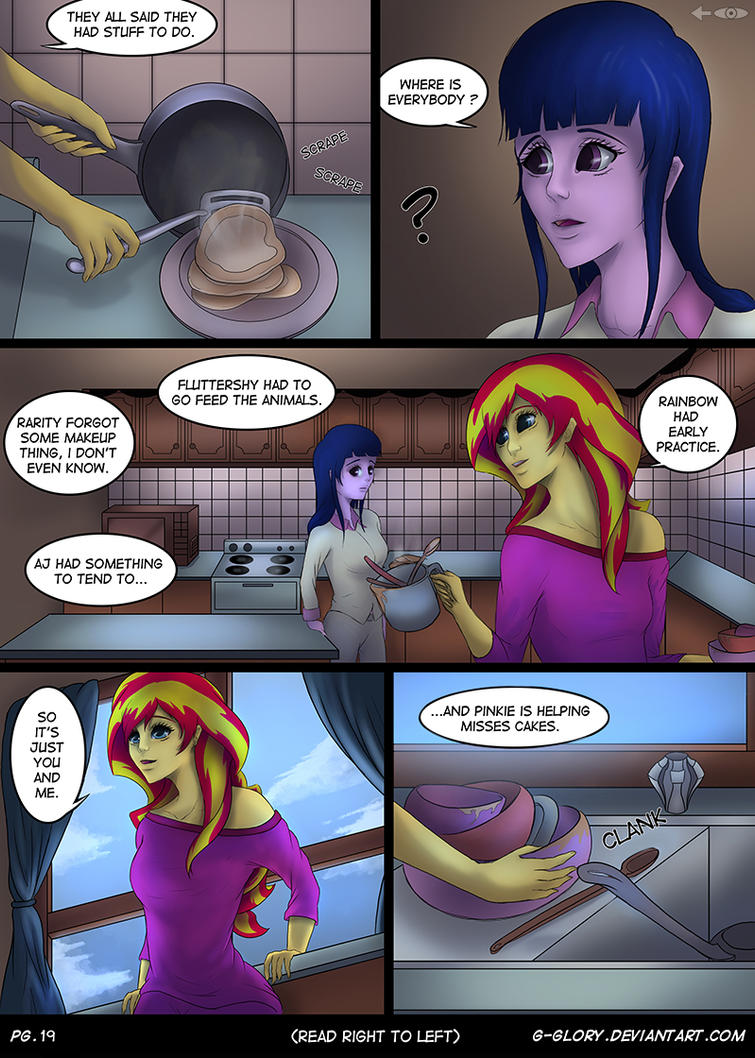 Up Late - Pg19 (read right to left) by G-Glory