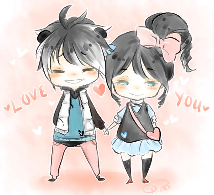PiiKai Valentines 2013 by Piika-chan