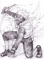 Naruto-Kakashi by kouya-satake