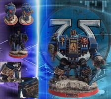 Corvus Ultramarine Dreadnought