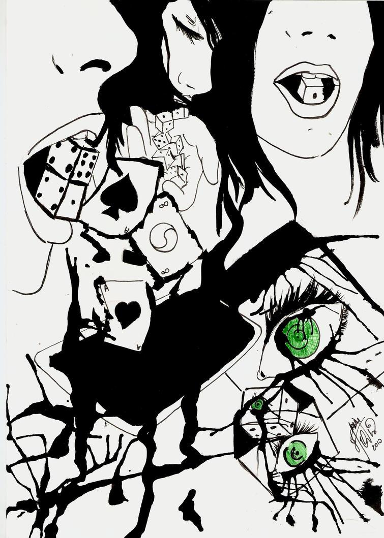 Monochromatic Lucky by kouchan00