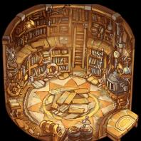 Creation Hall (Still) by DTLSprites