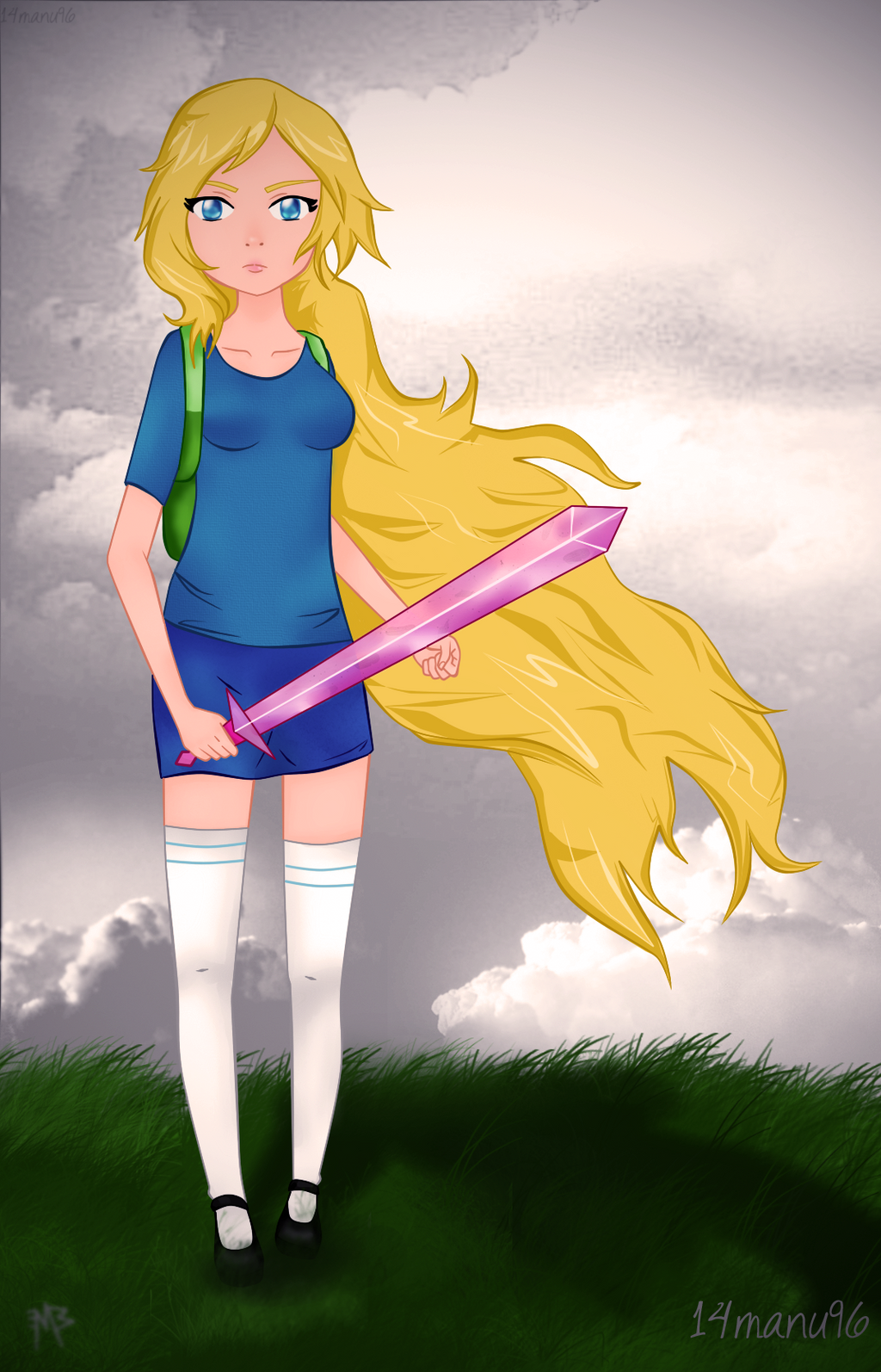 Fionna the Human :3 by 14manu96