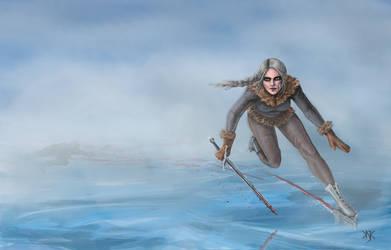 The Witcher: Ciri on ice