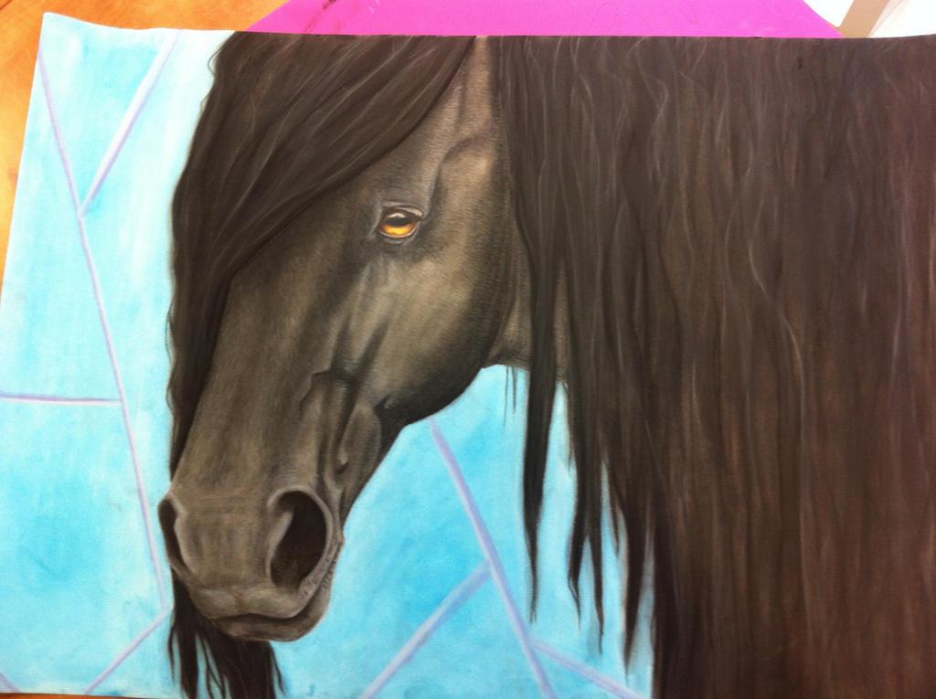 Friesian Horse Head Friesian Horse Head by