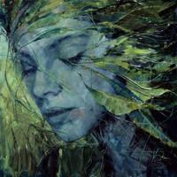 Agnieszka Wencka, oil by Wencka