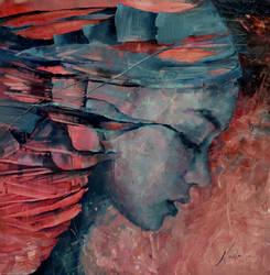 Agnieszka Wencka, oil on canvas