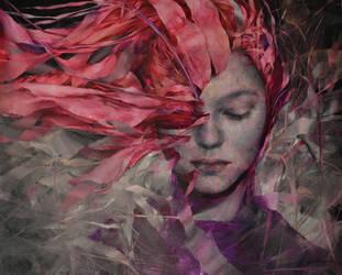 November, Agnieszka Wencka, oil on cnavas, 80 x100 by Wencka