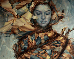 Calmness, Agnieszka Wencka, 100 x 80 by Wencka