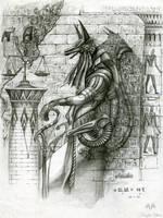 Anubis by KnightChan