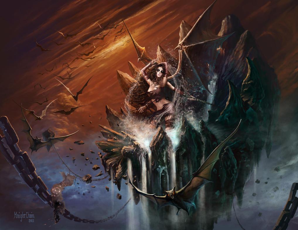 Sky Revelation by KnightChan