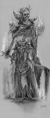 Undead wizard