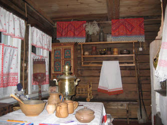 Russian Old Fashion House