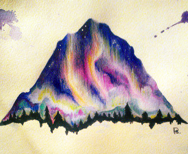 Northern lights by vally rij on deviantart for Tattoo shops in aurora