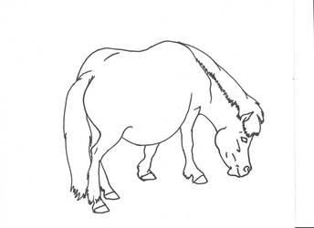 Pony Graze by Allicorn