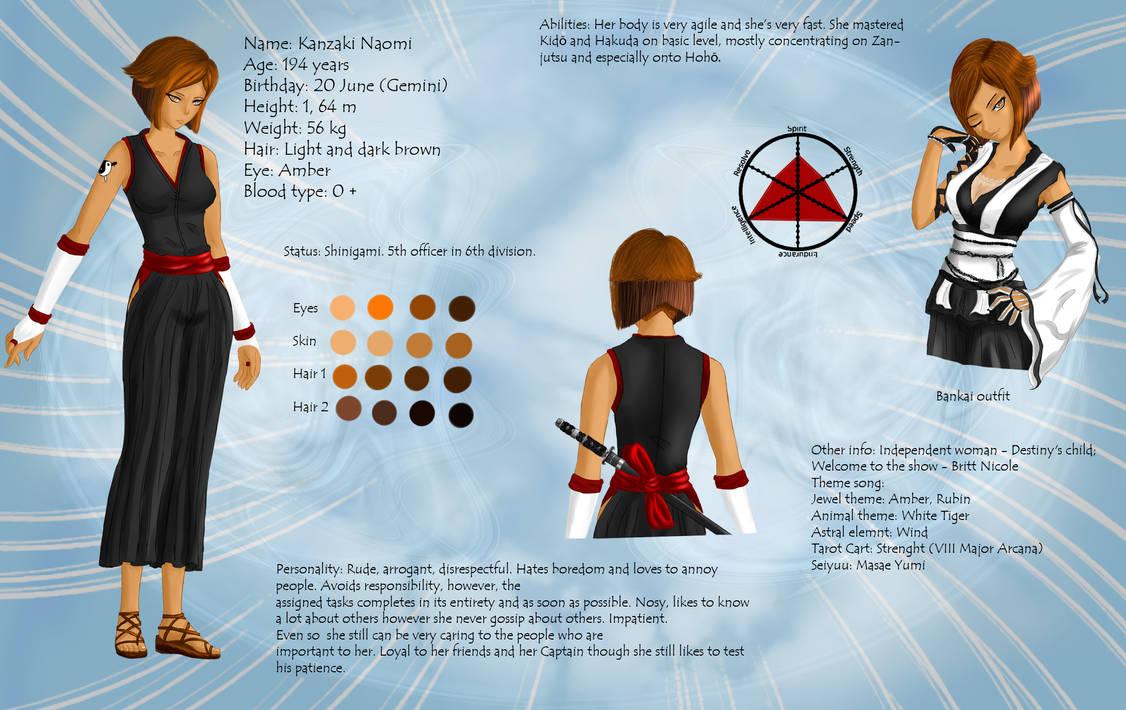 Naomis' Profile 1 by Shenira on DeviantArt