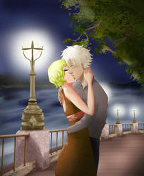 Collab: Passionate kiss