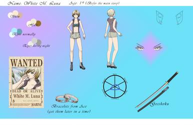 Luna's Profile - Novel A