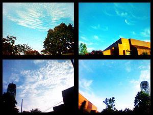 University Sky at 4.30 PM by honeystar