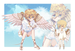 [ Adoptable Auction CLOSE ] Bird in a Cage by peachjjam