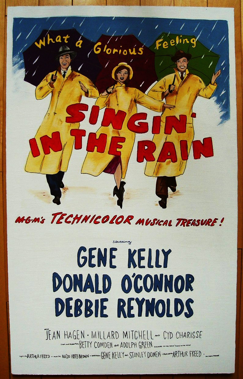 singin in the rain poster by coinreturnslot on deviantart
