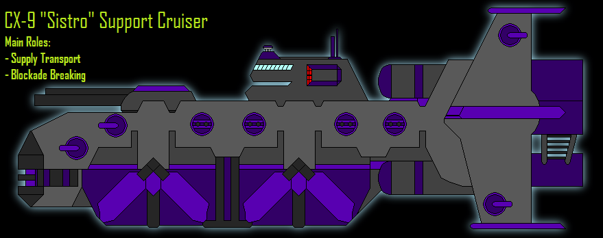 CX9 - *Sistro* Support Cruiser by Maverik-Soldier