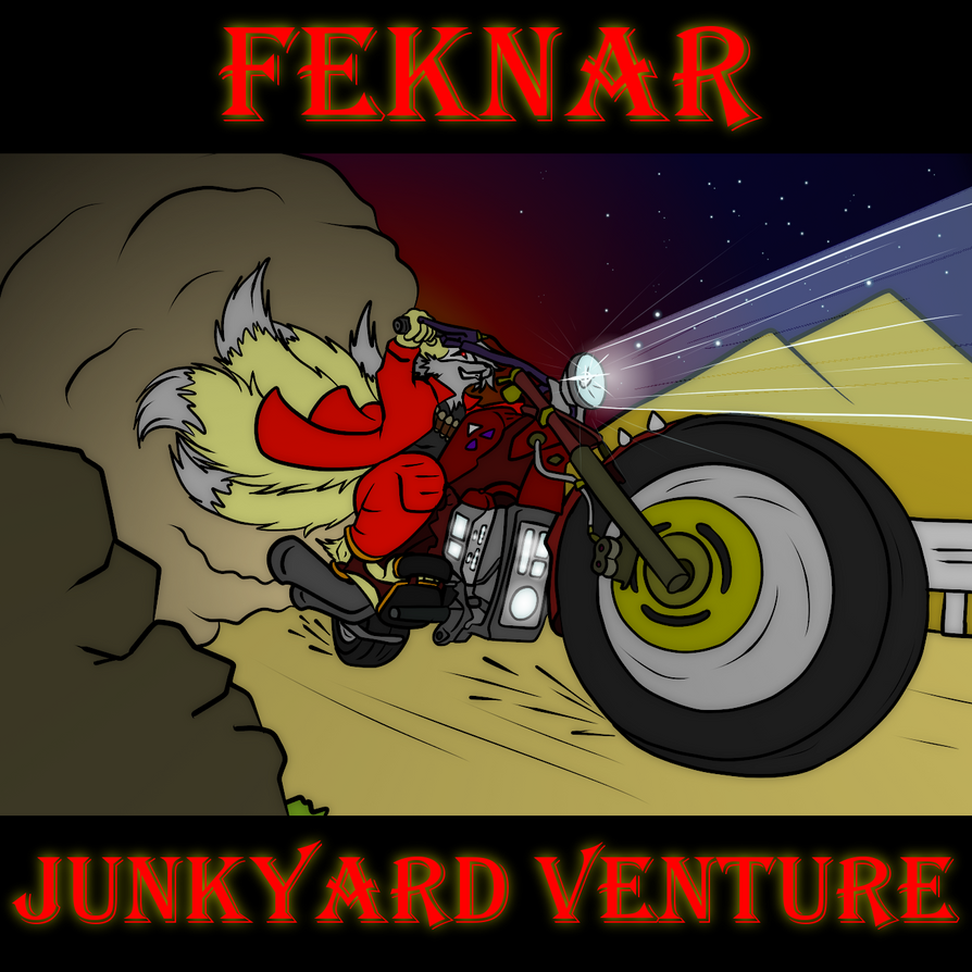 Feknar - Junkyard Venture EP - Cover by Maverik-Soldier