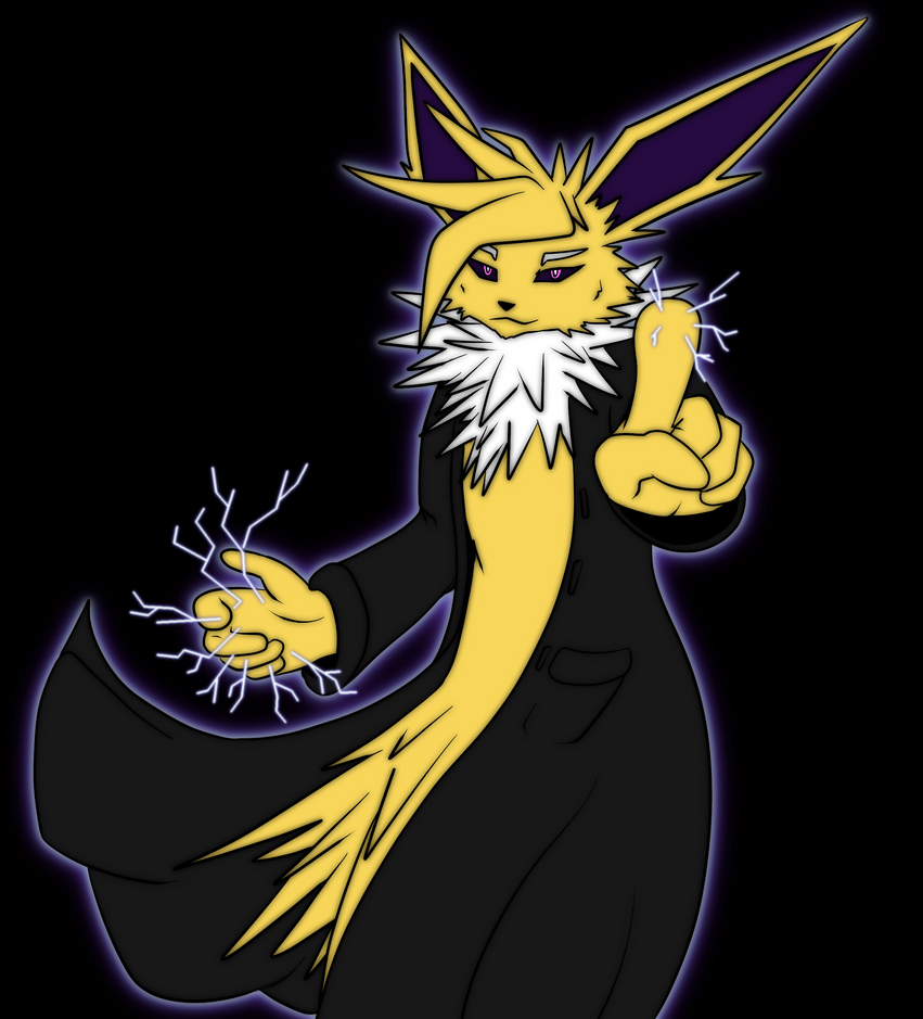 *ZAP* Jolteon! by Maverik-Soldier