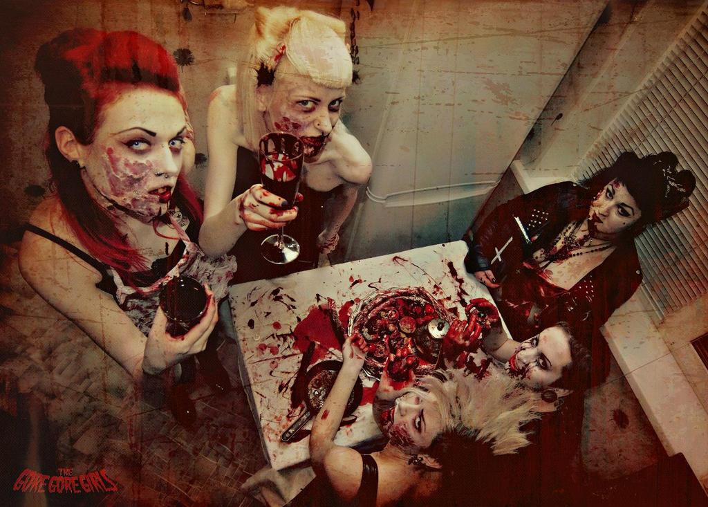 Satan's feast in TheGoreGoreGirls , by YanaHell