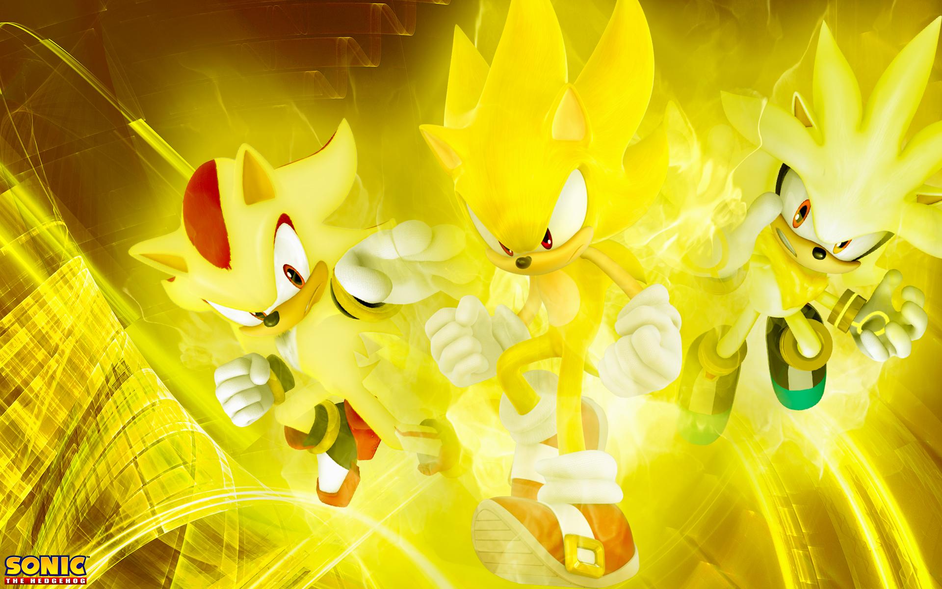 The Three Super Hedgehog's Wallpaper by SonicTheHedgehogBG ...