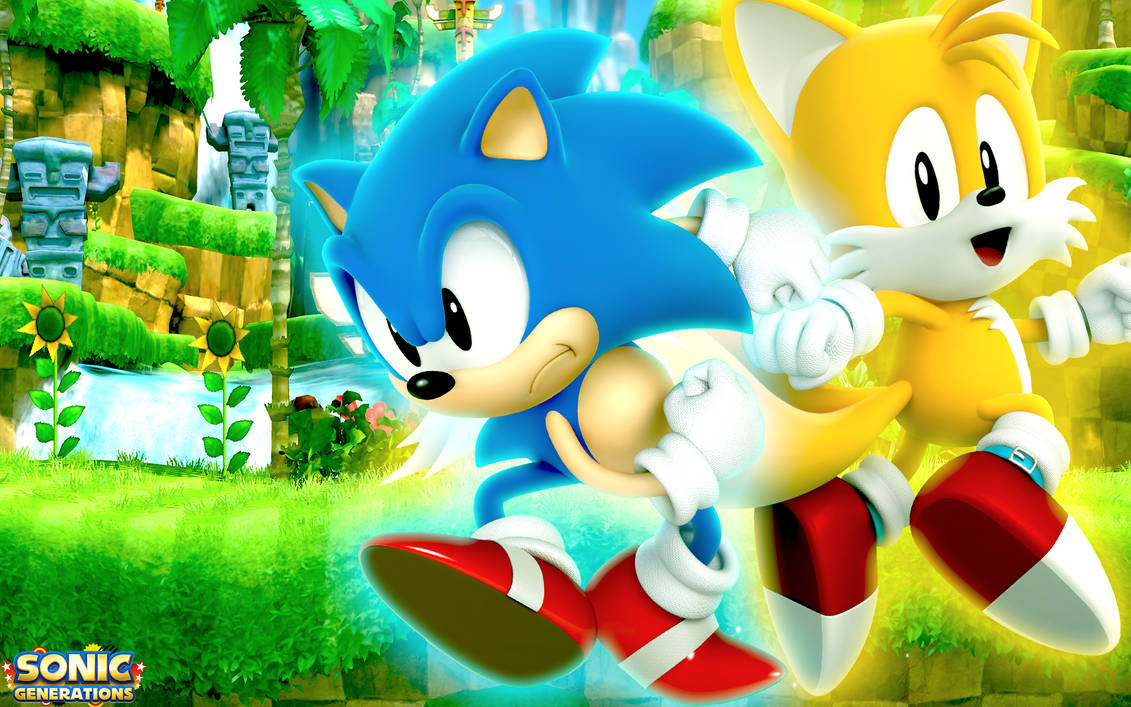 Classic Sonic And Classic Tails Wallpaper By Sonicthehedgehogbg On